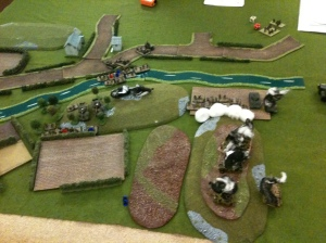 Final position 3: the whole field. German prisoners top right.